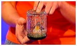 اصنعى لعبة الزجاجوالبرونز الملون
