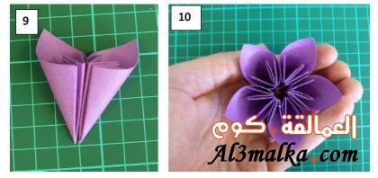 طريقة سهلة لعمل زهور2014 افكار