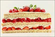 طبقات الكعك احلى طريقة طبقات