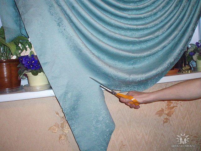 Выкройки штор для кухни своими руками бесплатно фото 394