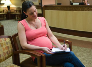حساب مدة الحمل من اخر دورة