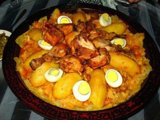 اكلة تقليدية طبق الشخشوخة hwaml.com_1347780330