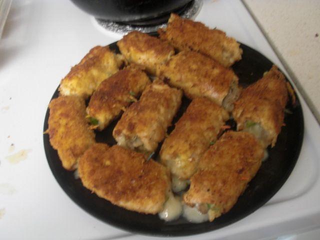 طريقة صدور الدجاج بالجبن 2013
