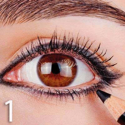 طريقة عمل مكياج عيون 2015 , مكياج عيون بالصور 2015 hwaml.com_1354162269