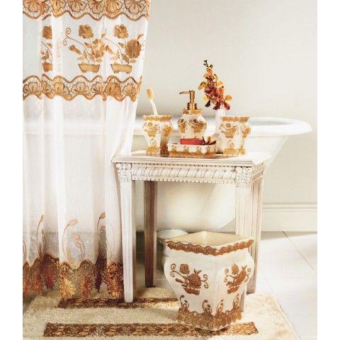 حمامات اكثر اناقة اكسسوارات الحمامات سجادات بالوان مختلفة تنسيق سجاد الحمامات