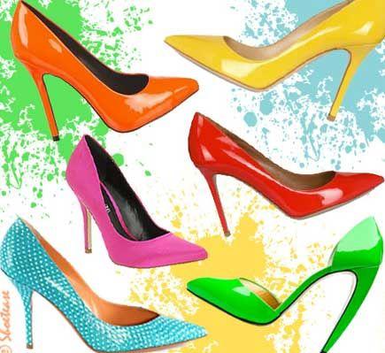 احدث احذية بالالوان 2015 جديد