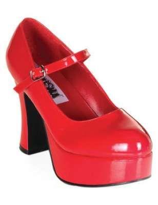 احذية باللون الاحمر 2013 احذية