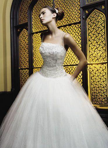 6c835ce05597c فساتين زفاف خليجية 2013 ، فساتين زفاف ناعمة ، فساتين زفاف انيقة موضة 2014