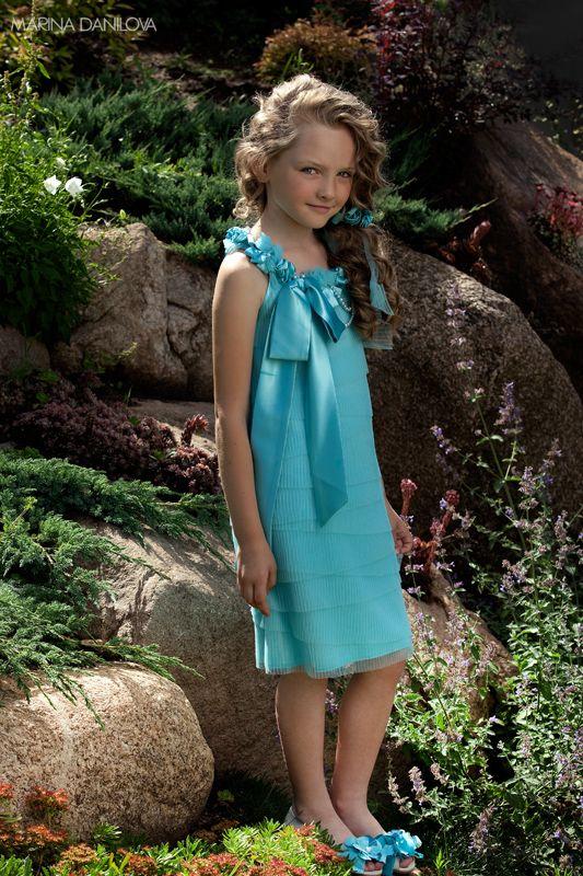 Детские модные платья фото 3