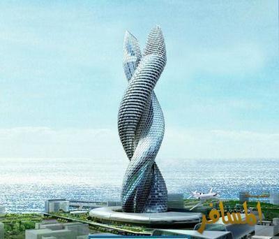 برج افعى الكوبرا في الكويت اخر صرعة ابراج الخليج hwaml.com_1357922237
