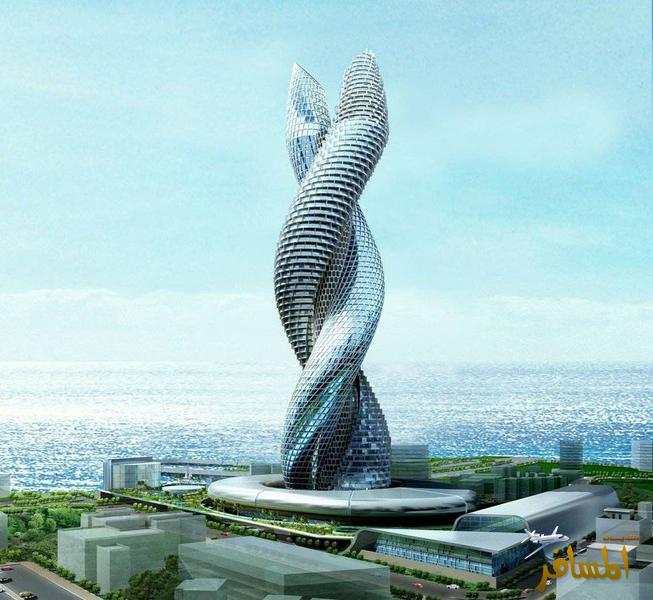 برج افعى الكوبرا في الكويت اخر صرعة ابراج الخليج hwaml.com_1357922238