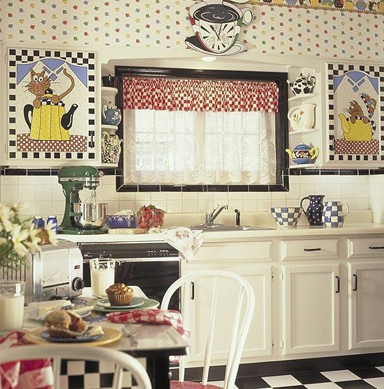 ديكورات المطبخ 2014 ، تصاميم مطبخ جذابة
