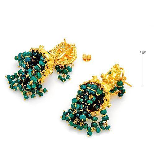 اكسسوارات باللون الاخضر 2015 مجوهرات