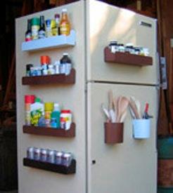 الابداع في كبينة اعلى الثلاجة
