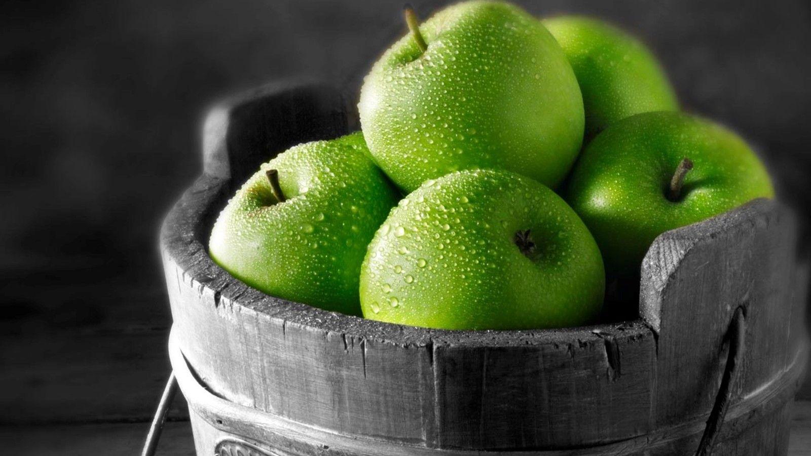 التفاح الأخضر وفوائده hwaml.com_1383330474