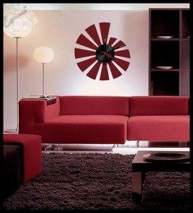 ساعات حائط فى غرف الجلوس hwaml.com_1404988219