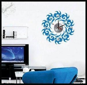 ساعات حائط فى غرف الجلوس hwaml.com_1404988222