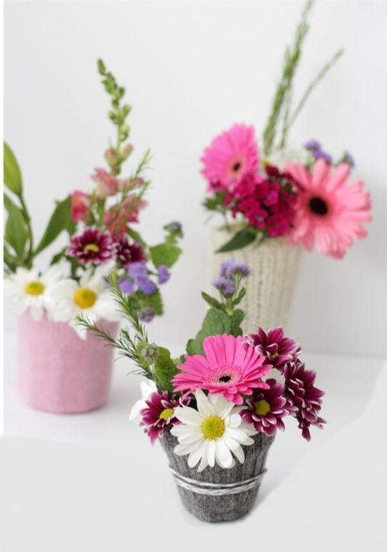 زيني أوعية الزهور بأحلى الأشكال hwaml.com_1443536052